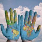 Hände Welt